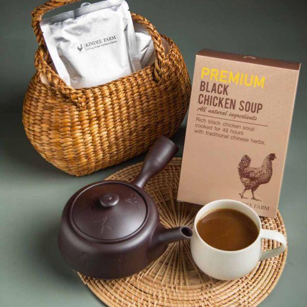 ซุปไก่ดำตุ๋นยาจีน (กล่องเล็ก)