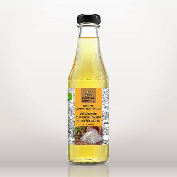 น้ำส้มสายชูหมักจากข้าวหอมมะลิอินทรีย์