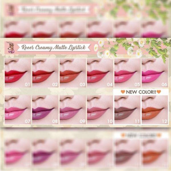 Reeer Creamy Matte Lipstick